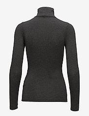 mbyM - Ina - long-sleeved tops - dark grey melange - 1