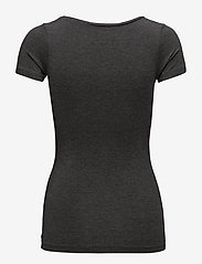 mbyM - Siliana - t-shirts basic - dark grey melange - 1