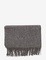 mbyM - Stacy - winter scarves - light grey melange - 2