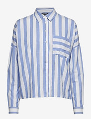 mbyM - Terence - long sleeved blouses - vista sugar stripe - 0