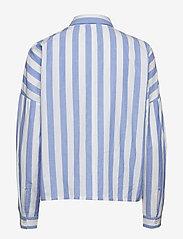 mbyM - Terence - long sleeved blouses - vista sugar stripe - 1