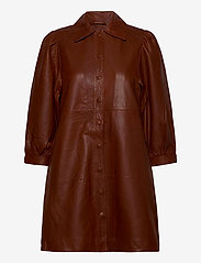 mbyM - Amilie - shirt dresses - henna - 0