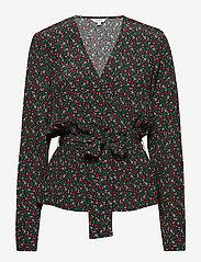 mbyM - Avila - long sleeved blouses - hetty print - 0