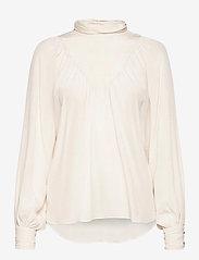 mbyM - Lasia - long sleeved blouses - sugar - 0