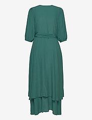 mbyM - Bibbi - wrap dresses - mallard green - 1