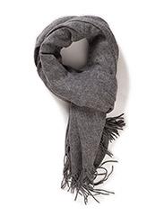 mbyM - Stacy - winter scarves - light grey melange - 0
