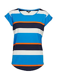 Nisha - SHADOW BLUE BILL STRIPE