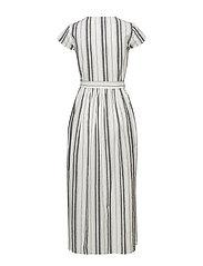 mbyM - Blakely - midi dresses - sugar black stripe - 1