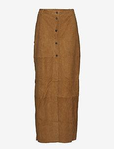 Jones - spódnice długie - brown sugar