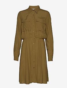 Tamia - shirt dresses - butternut
