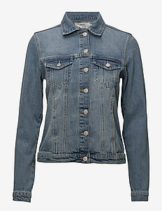Young Thunder - denim jackets - medium paint denim