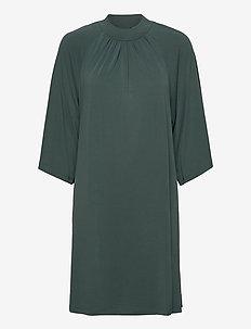 Ayesha - midi dresses - green root