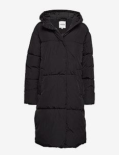 Merian - padded coats - black