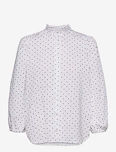 Fiamma - long sleeved blouses - elettra print