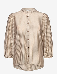 Solstice - long sleeved blouses - athalie stripe