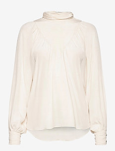 Lasia - long sleeved blouses - sugar