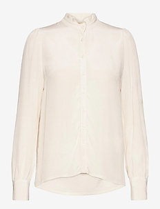 Vilora - long sleeved blouses - sugar