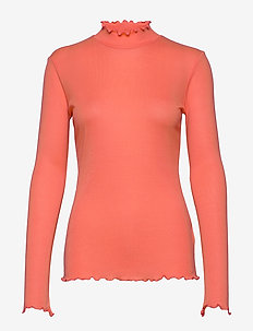 Ruth - basic t-shirts - sunkissed coral