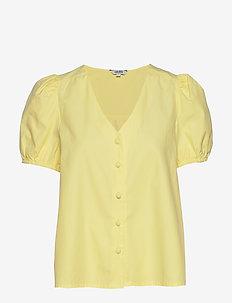 Tracee - kortærmede bluser - charlock yellow