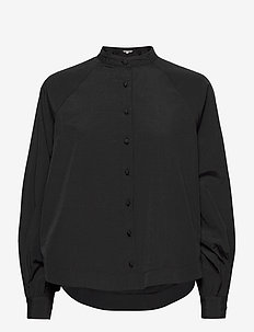 Elbee - long-sleeved shirts - black