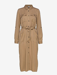 Eleena Long Sleeve - shirt dresses - twig