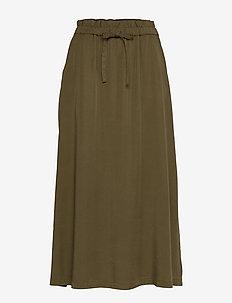 Kamila - maxi nederdele - military olive