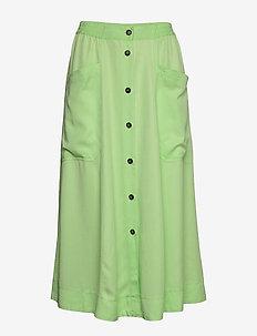 Karole - midi kjolar - paradise green