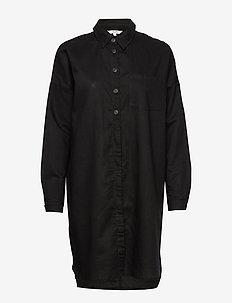 Blanco - shirt dresses - black