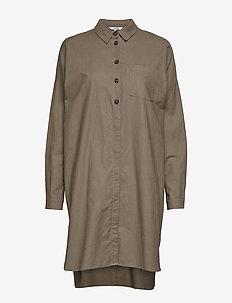 Blanco - shirt dresses - dark sand