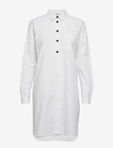 Blanco - shirt dresses - white