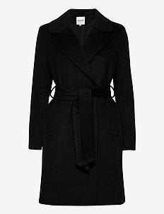 Tanni - wool coats - black