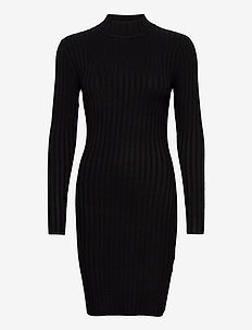 Elnora - midi dresses - black