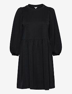 Gabrielly - midi dresses - black