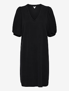 Farrana - midi dresses - black