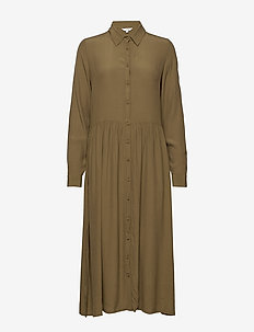 Ellia - shirt dresses - military olive