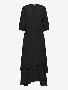 Bibbi - wrap dresses - black