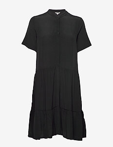 Lecia - shirt dresses - black