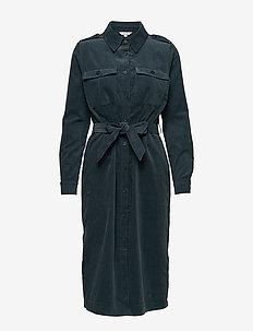 Delica - shirt dresses - dark slate