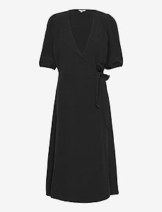 Angelo - wrap dresses - black
