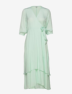 Bibbi - wrap dresses - moonlight jade