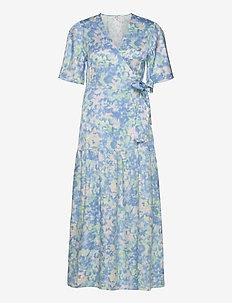 Sanora - wrap dresses - sirens print