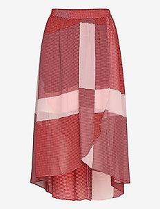 Caitlin - midi skirts - laurette print