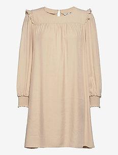Nilia - short dresses - oyster