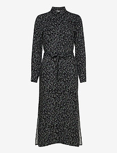 Katthy - midi dresses - ewelina print