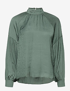 Miyra - long sleeved blouses - green root