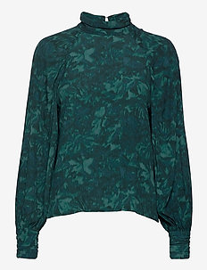 Renett - long sleeved blouses - nimah print
