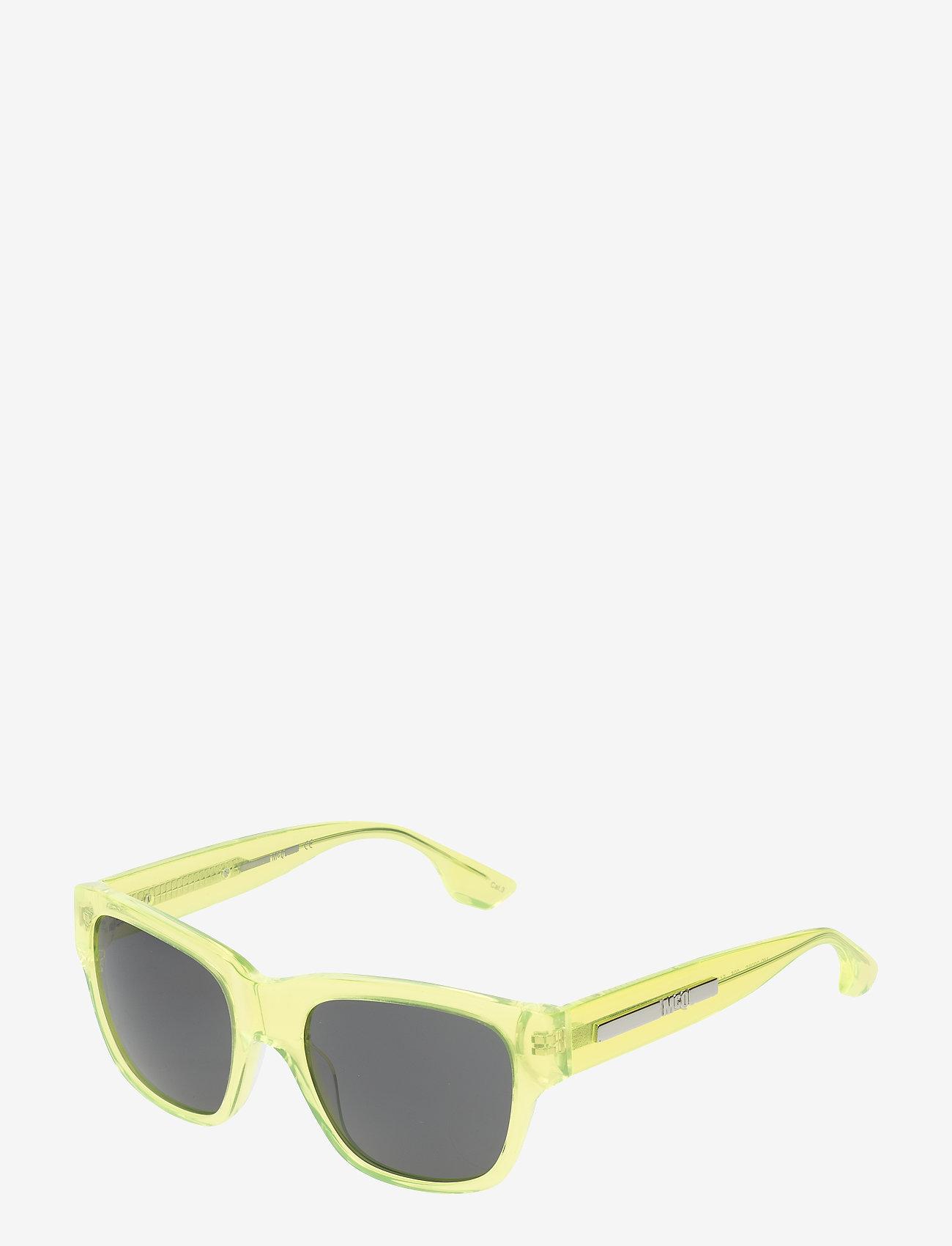 McQ Eyewear - MQ0028S - d-shaped - yellow-yellow-smoke - 1