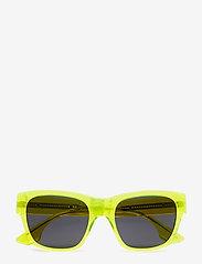 McQ Eyewear - MQ0028S - d-shaped - yellow-yellow-smoke - 4