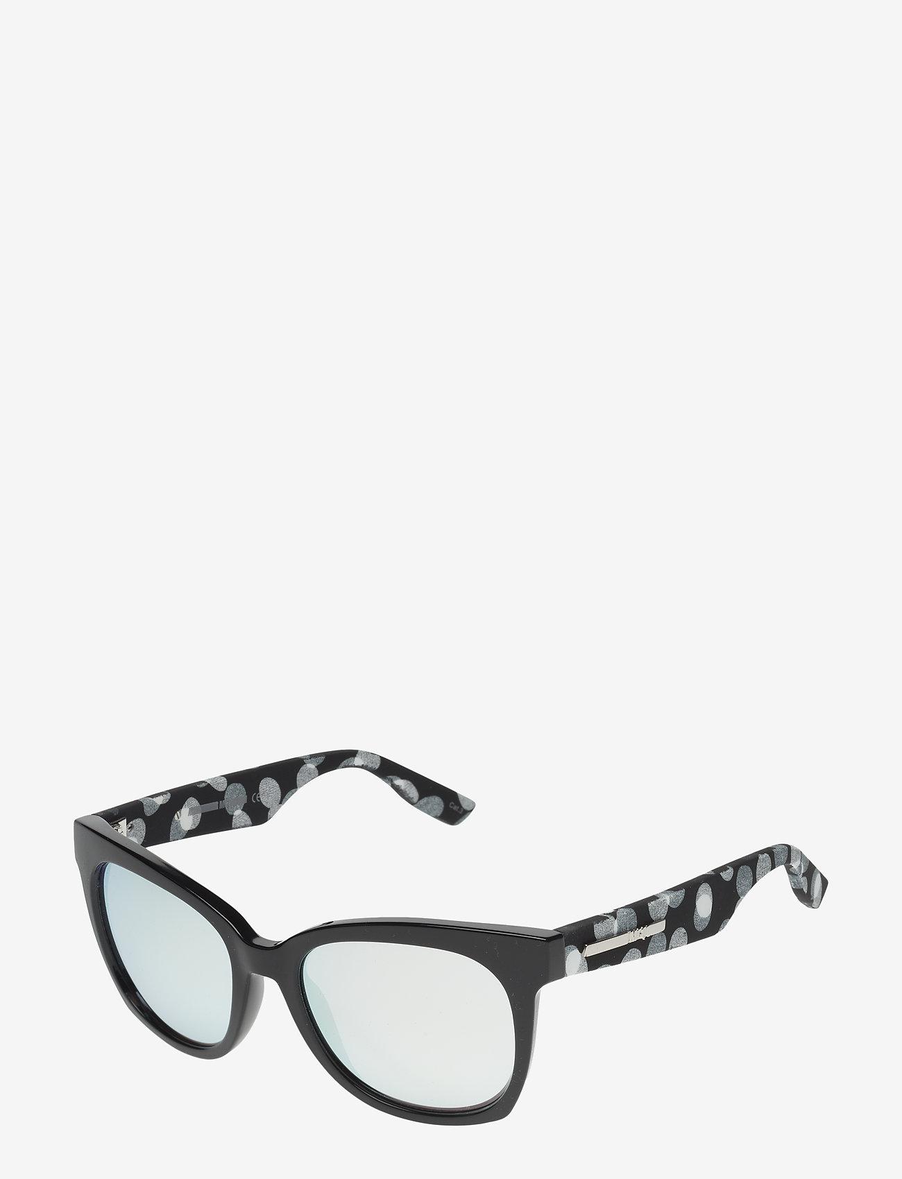 McQ Eyewear - MQ0011S - cat-eye - black-white-silver - 1