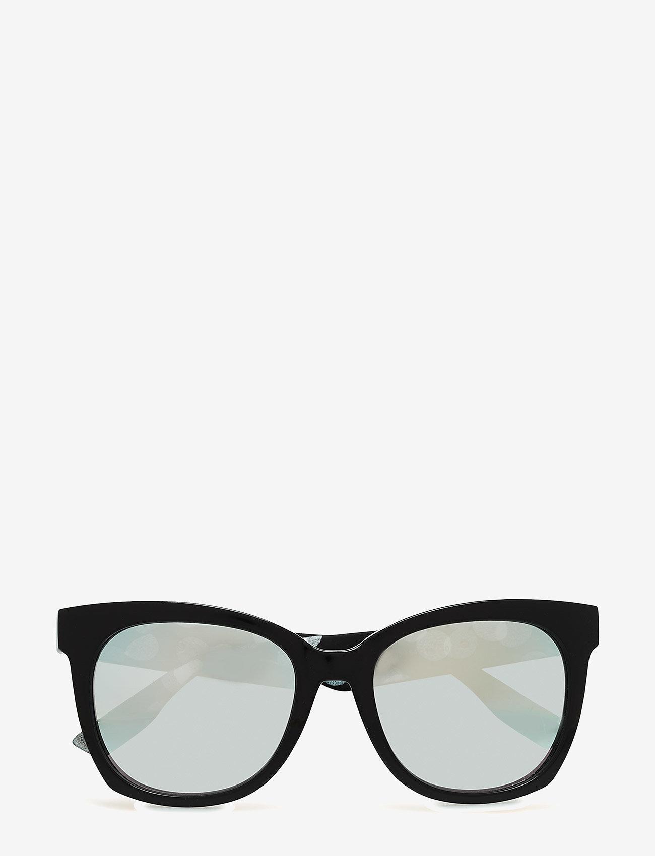 McQ Eyewear - MQ0011S - cat-eye - black-white-silver - 0